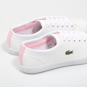 Zapatillas Lacoste Riberac Blanca-Rosa 1