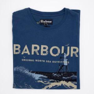 Camiseta Barbour Azulón faro