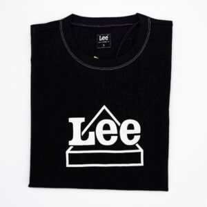 Camiseta Lee negra