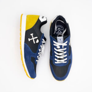 Zapatillas Harper & Neyer Azul-Amarillo