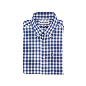 Camisa Barbour Cuadro Azul