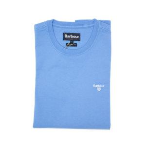 Camiseta Barbour Logo Celeste