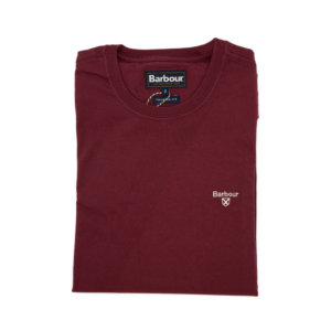Camiseta Barbour Logo Granate
