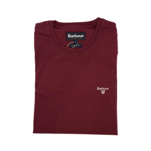 Camiseta Barbour Logo Granate
