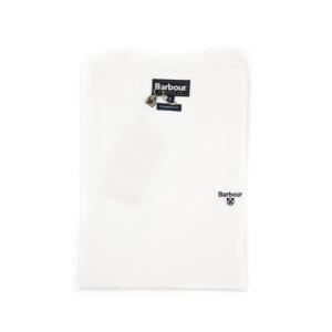 Camiseta Barbour Logo Blanca