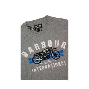 Camiseta Barbour Int. Gris
