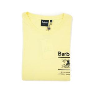 Camiseta Barbour Amarilla Faro 2