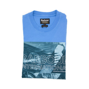 Camiseta Barbour Int. Azul