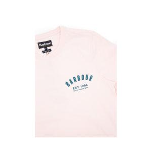 Camiseta Barbour Rosa Palo