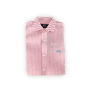 Camisa Scotta 1985 Caribe Raya Frambuesa
