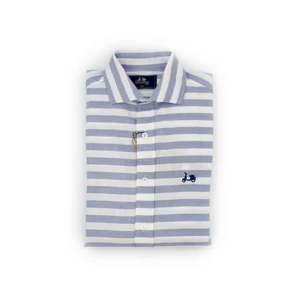 Camisa Scotta 1985 Privilege Raya Azul