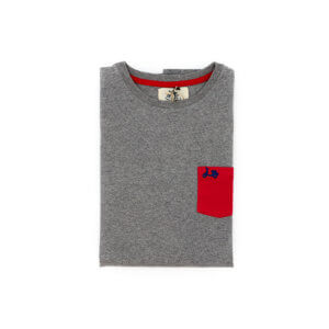 Camiseta Scotta 1985 Pocket Now Gris