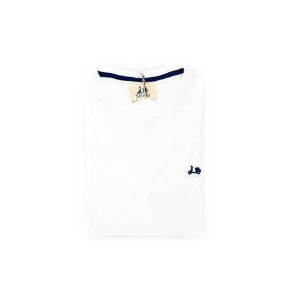 Camiseta Scotta 1985 Basica Blanca