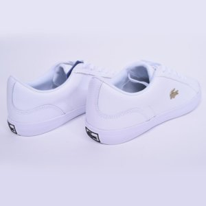 Zapatillas Lacoste mujer Lerond blanca 2
