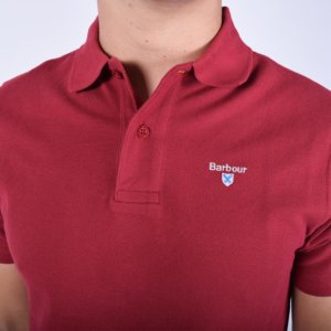 Polo Barbour Granate 1