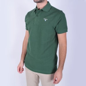 Polo Barbour Verde 2