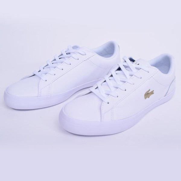 Zapatillas Lacoste mujer Lerond blanca 3
