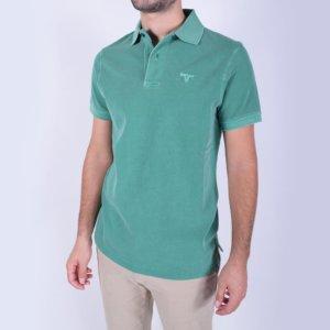 Polo Barbour Lavado Verde 2