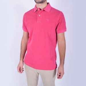 Polo Barbour Lavado Rosa 2