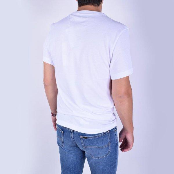 Camiseta Lacoste Sport blanca cocodr 3ilo 3D