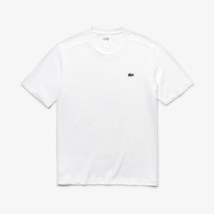 Camiseta Lacoste Blanca logo 1