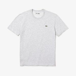 Camiseta Lacoste Gris logo 1