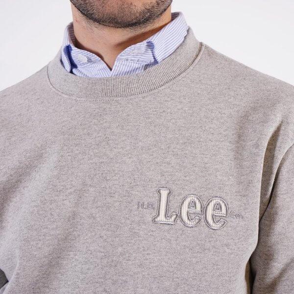 Sudadera Lee básica gris 1