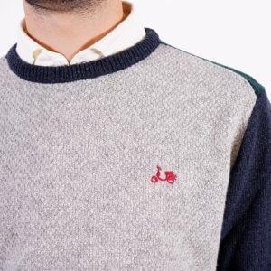 Jersey Scotta 1985 trico gris 1