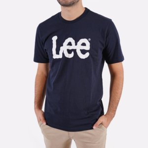 Camiseta Lee marino logo 1