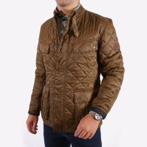 Chaquetón Barbour acolchado olive 1