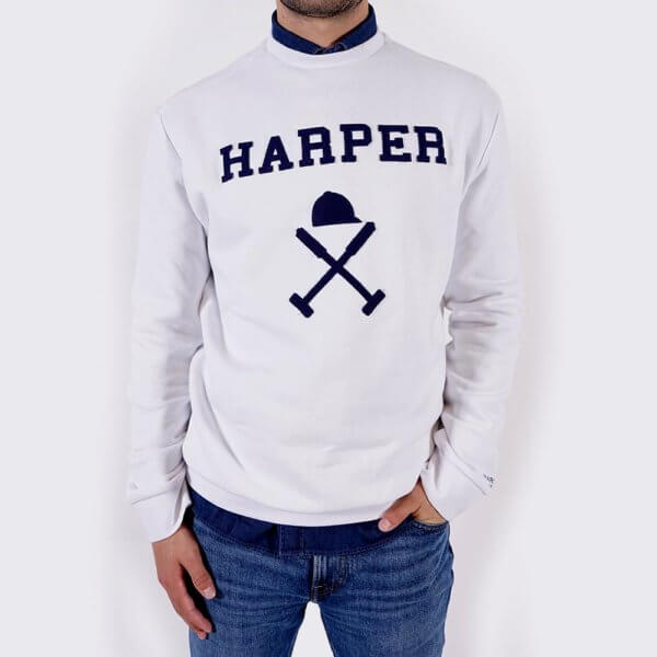 Sudadera Harper & Neyer icon blanco 2