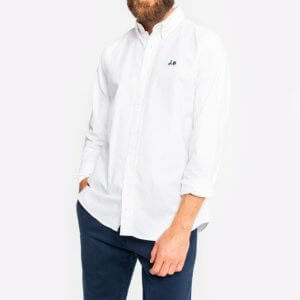 Camisa Scotta 1985 oxford blanco 1