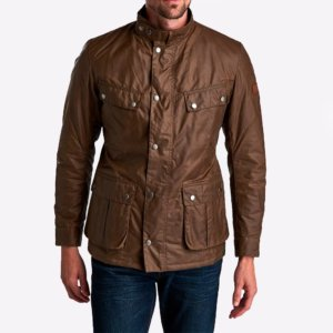 Chaqueta Barbour Int. duke encerada marrón 1