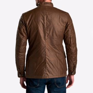 Chaqueta Barbour Int. duke encerada marrón 4