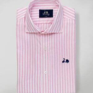 Camisa Scotta 1985 Florida Rosa 2