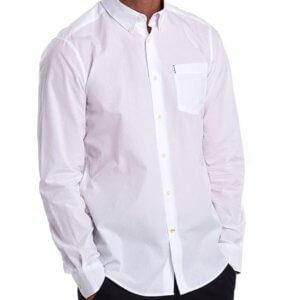 Camisa Barbour Headshaw blanca 1