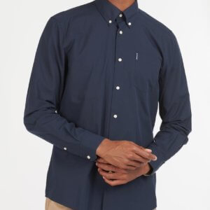 Camisa Barbour Headshaw marino 1