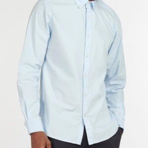 Camisa Barbour Oxford celeste 3