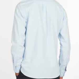 Camisa Barbour Oxford celeste 2