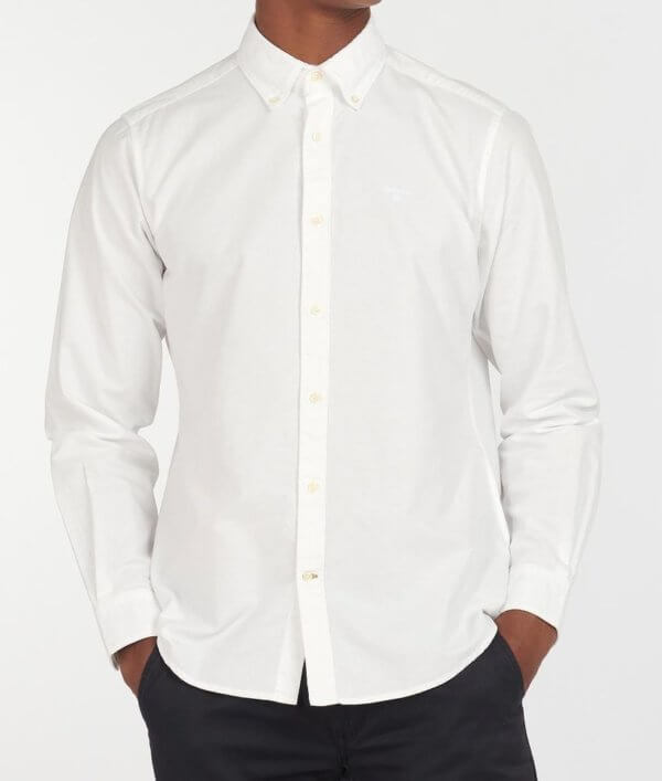 Camisa Barbour Oxford blanca 1