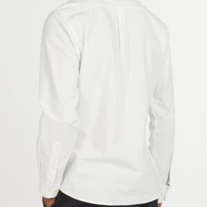 Camisa Barbour Oxford blanca 2