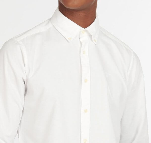 Camisa Barbour Oxford blanca 3