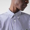 Camisa Lacoste Rayas marino 2