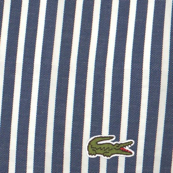 Camisa Lacoste Rayas marino 4