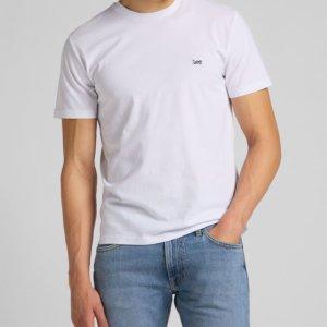 Camiseta Lee patch logo blanca 1