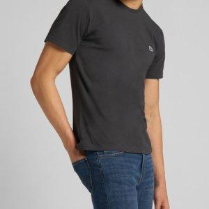 Camiseta Lee patch logo gris oscuro 1