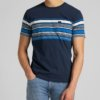 Camiseta Lee stripy bolsillo marino 1