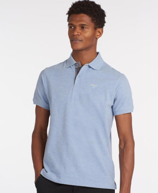 Polo Barbour Tartán Sky 1