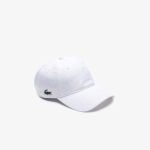 Gorra Lacoste Sport blanca 1