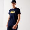 Camiseta Lacoste Sport marino cocodrilo 3D 1